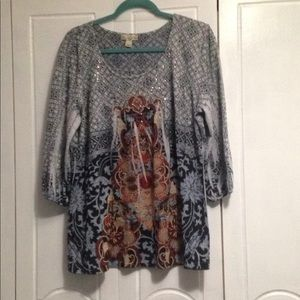 Live and Let Live Tunic 1X